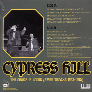 Cypress Hill-The Choice Is Yours: Rare Tracks 92-95 TV Party(Ltd. 500 Copies)-LP
