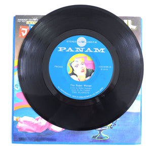 The Planets ‎– Magical Arabian Night / The Super Woman - 7 inch Vinyl