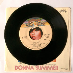 Donna Summer - Hot Stuff / Journey to the centre of your heart - 7 inch Vinyl