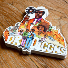 Load image into Gallery viewer, Dr Diggns - Die cut sticker