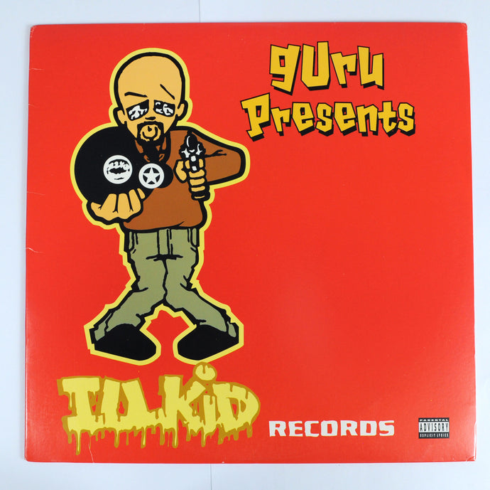 Guru Presents ‎– Illkid Records - L.P Compilation