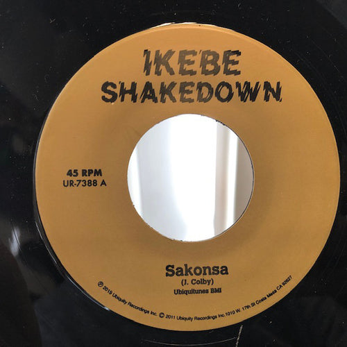 Ikebe Shakedown ‎– Sakonsa / Green And Black - 7 inch Vinyl