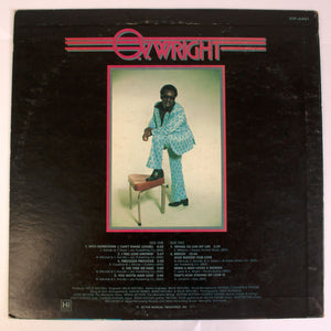 O.V. Wright ‎– Into Something (Can't Shake Loose) - LP Album