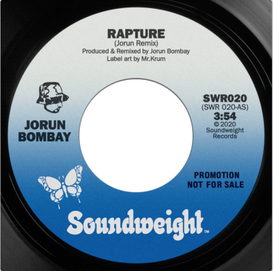 Preorder 📦  - Jorun Bombay - Rapture / Don't pay any fuller - 7 inch Vinyl ⭐︎
