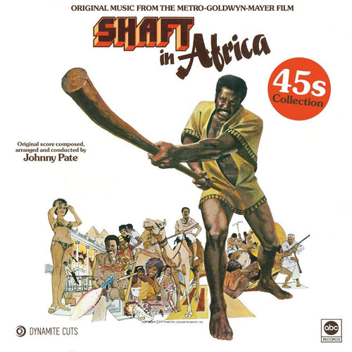 Johnny Pate ‎– Shaft In Africa (45s Collection) - Dynamite Cuts - Set of 2 x 7 inch Vinyl⭐︎