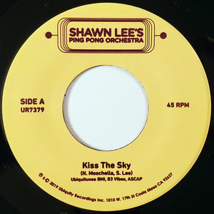 Shawn Lee / Kiss The Sky (Vocal/INSTR) - 7 inch Vinyl