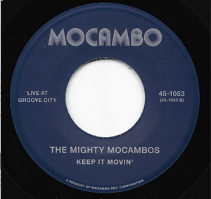 The Mighty Mocambos: Live At Groove City -7 inch VINYL⭐