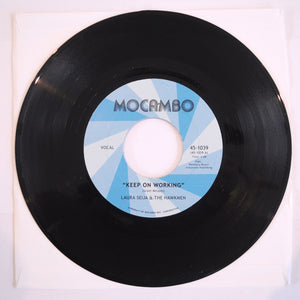 Laura Seija & The Hawkmen ‎– Keep On Working / Don't Judge A Book By Its Cover - 7 inch Vinyl