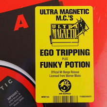 "Load image into Gallery viewer, Ultramagnetic MC's - Ego Trippin' / Funky Potion - 7"" Last 1"