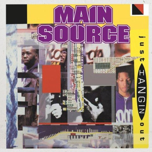 Pre-order-📦 -Main Source- Just Hangin' Out / Live At The Barbecue -7 inch Vinyl