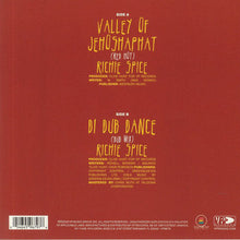 Load image into Gallery viewer, Richie Spice - Valley Of Jehoshaphat (Red Hot) / Richie Spice - Di Dub Dance (Dub Mix) (VP) - 7inch Vinyl