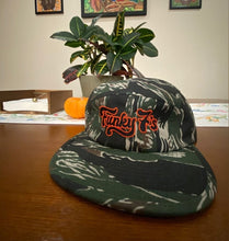 Load image into Gallery viewer, Funky 7's Camo Five Panel Cap