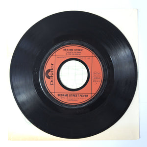 Sesame Street ‎– Sesame Street Fever / Has anybody seen my Dog? - 7 inch vinyl