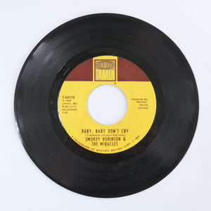 Smokey Robinson & The Miracles ‎– Baby, Baby Don't Cry - 7 inch Vinyl