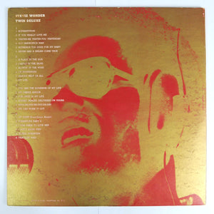 Stevie Wonder ‎– Twin Deluxe - 2 x L.P Compilation