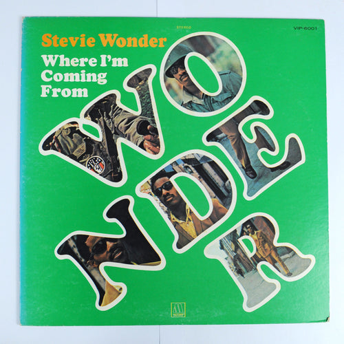 Stevie Wonder ‎– Where I'm Coming From - L.P Album