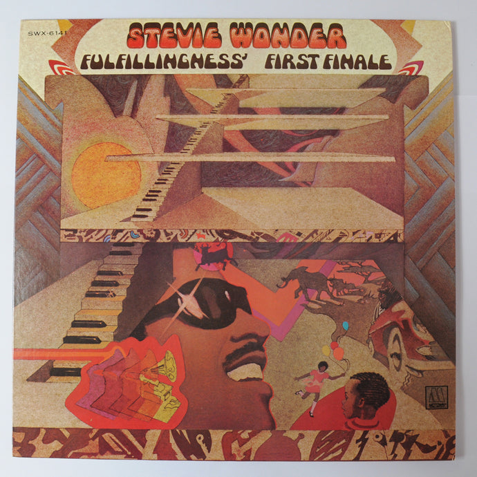 Stevie Wonder ‎– Fulfillingness' First Finale - L.P Album