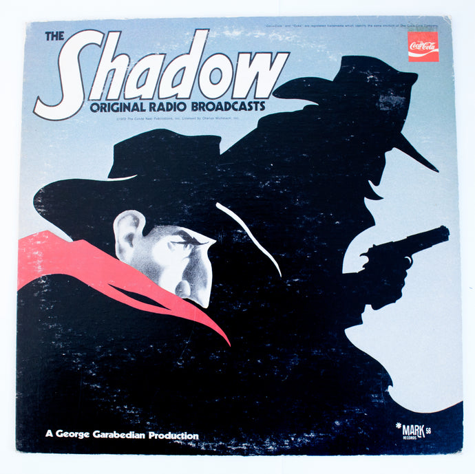 The Shadow - Radio Program, Bret Morrison ‎(Original Radio Broadcasts) - LP Vinyl
