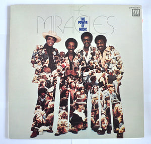 The Miracles ‎– The Power Of Music - L.P Album