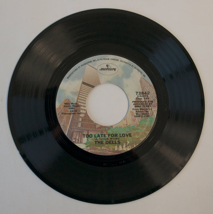 The Dells ‎– No Way Back - 7 inch Vinyl