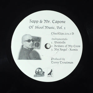 "ZAPP & MR. CAPONE OL SKOOL MUSIC VOL. 1 - RARE (unlisted)  12"" Single"