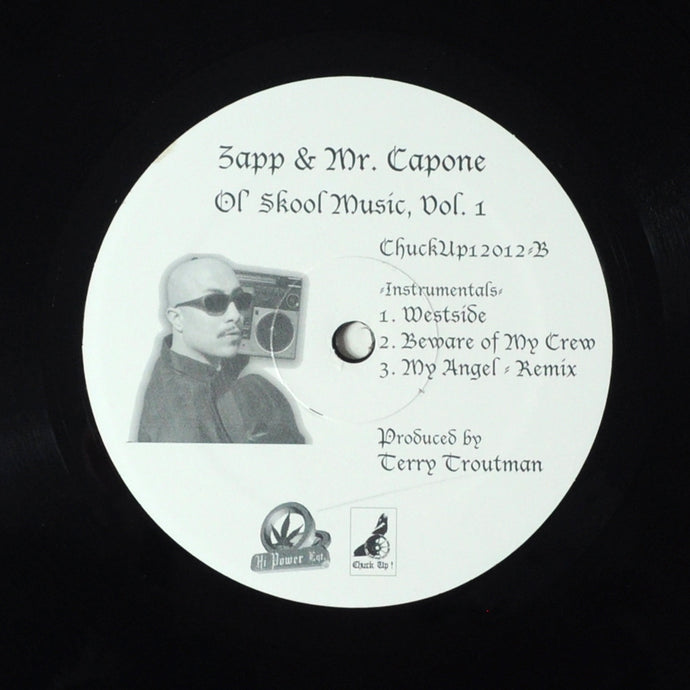 ZAPP & MR. CAPONE OL SKOOL MUSIC VOL. 1 - RARE (unlisted)  12