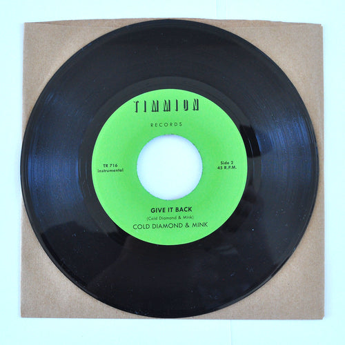 Willie West With Cold Diamond & Mink ‎– Give It Back - 7 inch Single