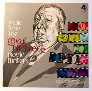 Music From The Great Hitchcock Movie Thrillers - JPN PROMO - 12 inch Vinyl