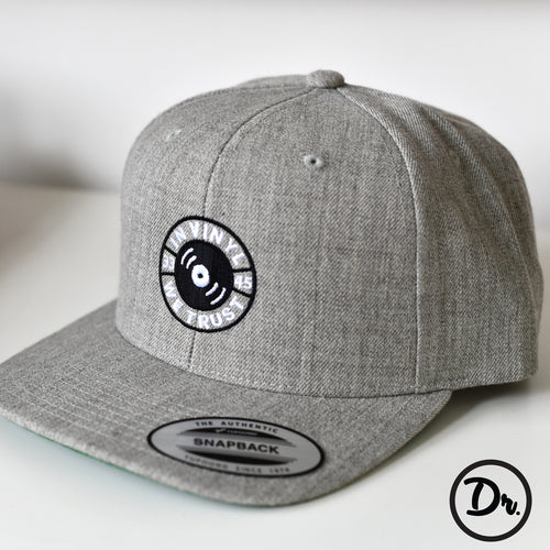 In Vinyl We Trust - Snapback Hat