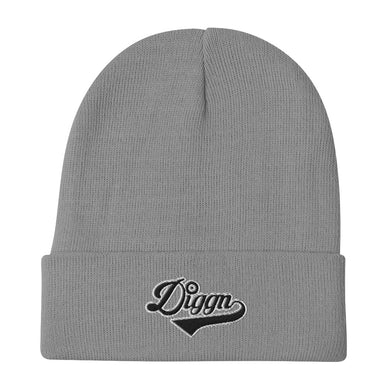 Diggn - Embroidered Beanie