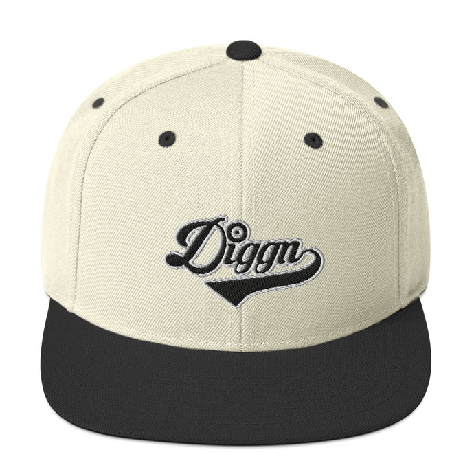 Diggn - Embroidered Snapback hat