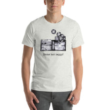 Load image into Gallery viewer, Broke but Happy - Diggn Short- Sleeve Unisex T-Shirt