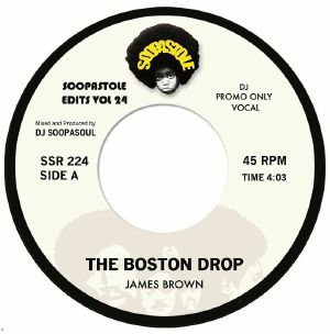 Pre-order-📦 -James Brown- The Boston Drop - Soopastole - VOL 24 - 7