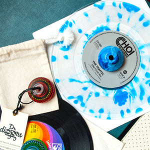 45 Rpm Adapter - Wave Blue