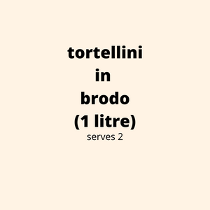 ADD ON: Tortellini in Brodo