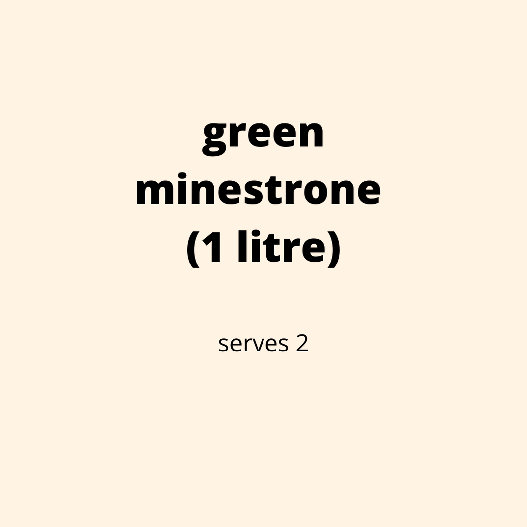 ADD ON: Green Minestrone