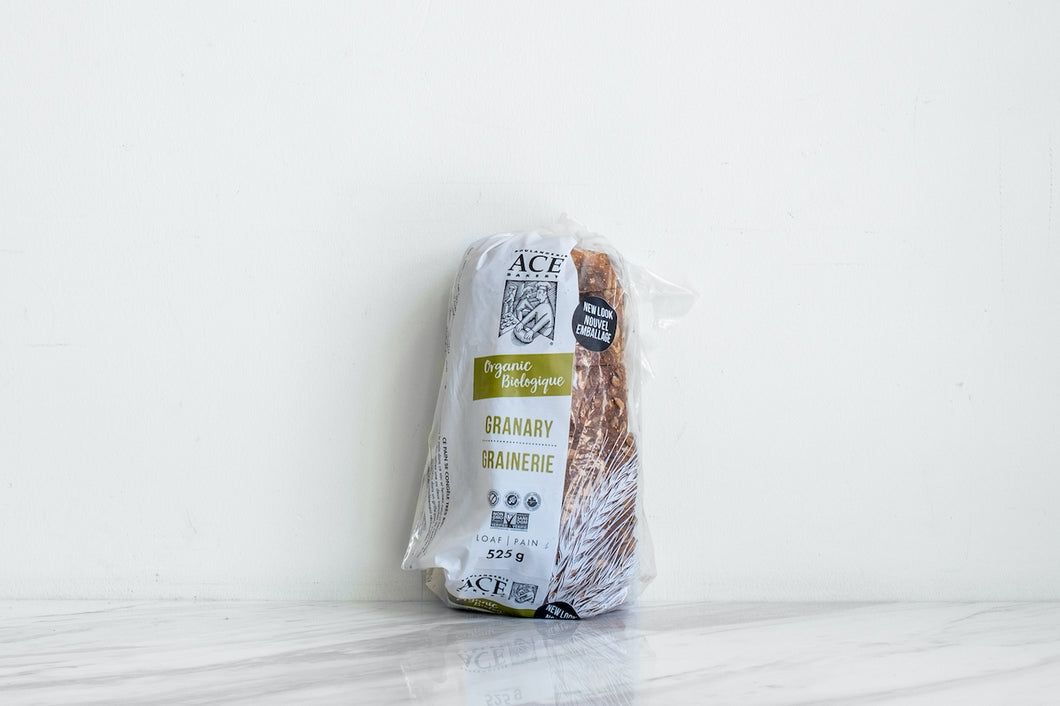 ACE Organic Granary Bread, Sliced 525 gr