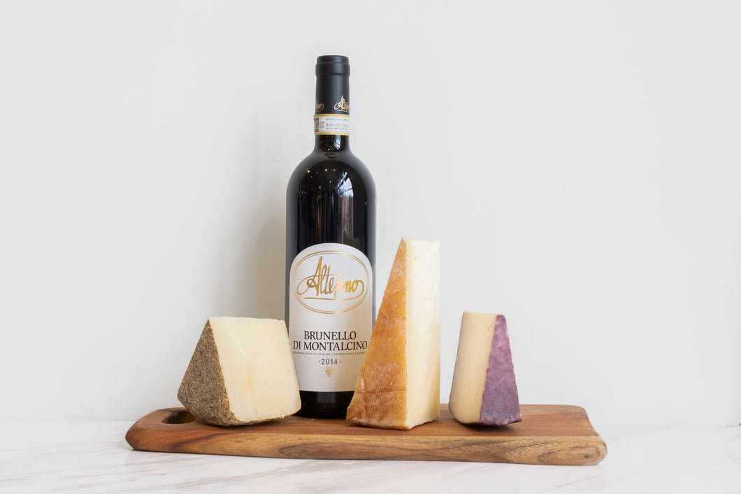 BRUNELLO of the Month (& Cheese)
