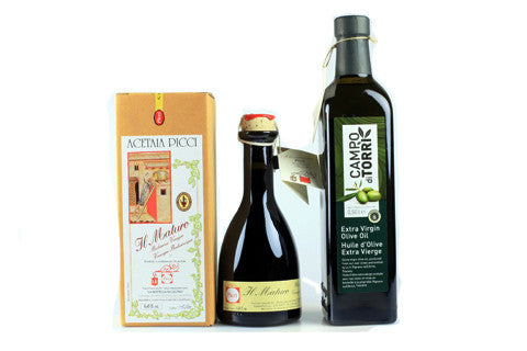 Our Flagship Olive Oil and Vinegar
