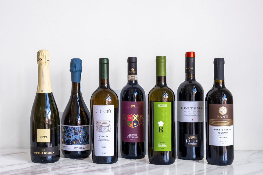 Premium Italian Wine & Antipasto Mixed Pack