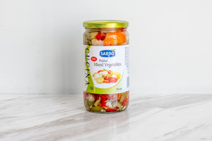 Pickled Mixed Vegetables, 750 ml