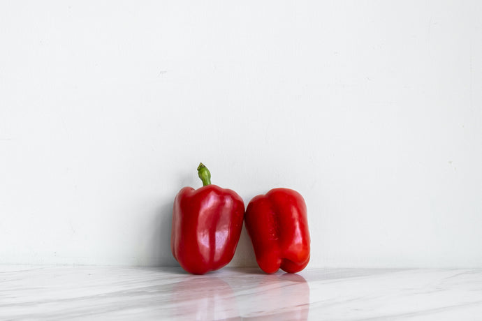 Red or Yellow Pepper
