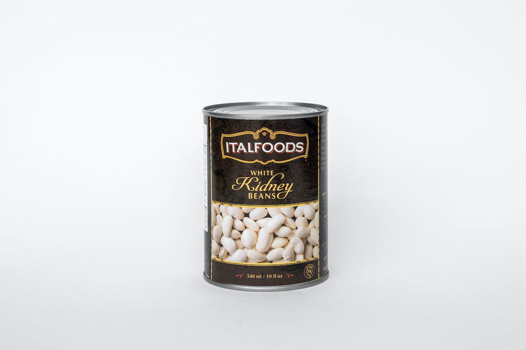 White Kidney Beans, Canned
