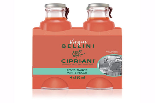 Cipriani Virgin Bellini Mix (4 x 180 ml)