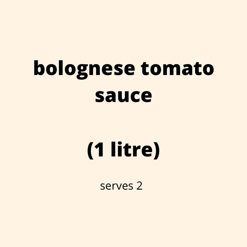 ADD ON: Bolognese Tomato Meat Sauce (1L)