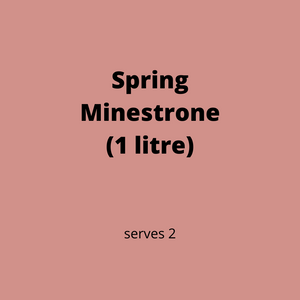 ADD ON: Spring Minestrone (serves 2)