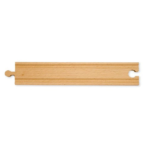 8 1/2 inch Straight Wooden Railway Track Piece
