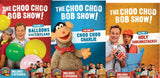 """The Choo Choo Bob Show"" DVD Bundle, Volumes 1 -3"