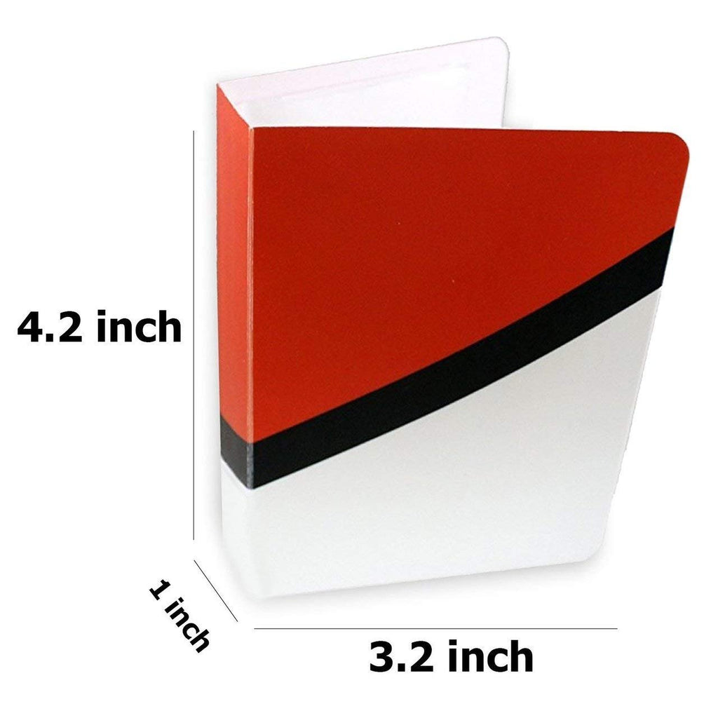 Each Mini Binder Album Holds 60 Cards Albums Inspired by Poke Ball Ultra Ball and Great Ball Master Ball Totem World 4 Pokemon Card Mini Binders