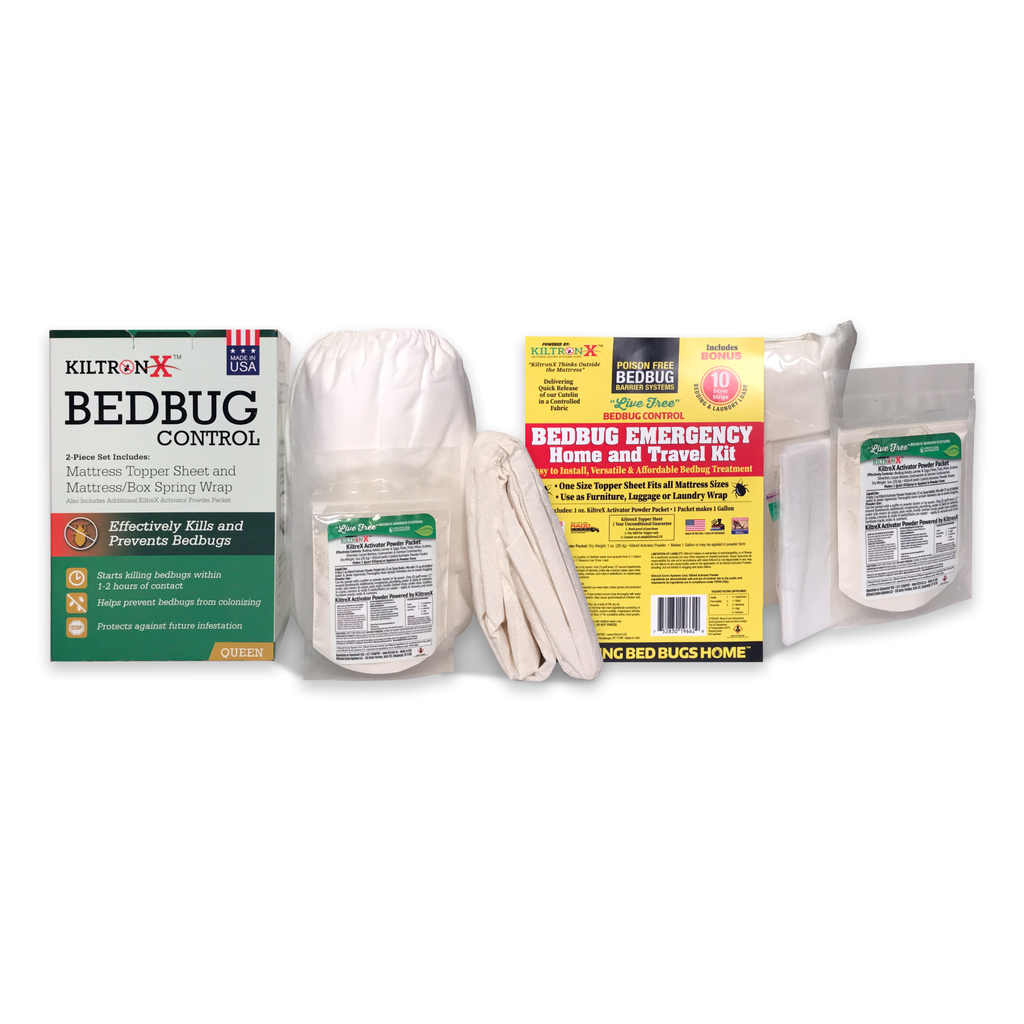 Live Free Bedbug 5 Piece Value Combo Kit